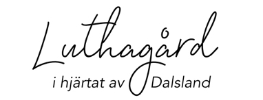 Luthagård sign